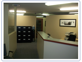Inside the office of Syryus Solutions in Nanaimo, BC